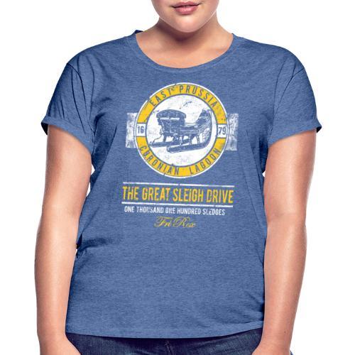 FriRex Schlittenfahrt - Frauen Oversize T-Shirt