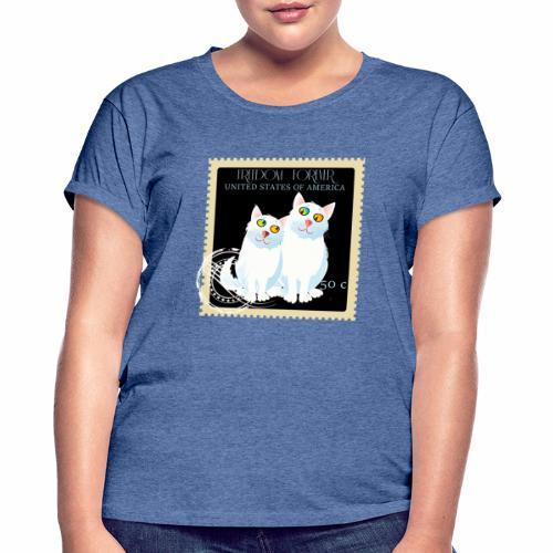 timbre usa - T-shirt oversize Femme