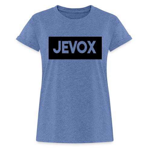 Jevox Black - Vrouwen oversize T-shirt
