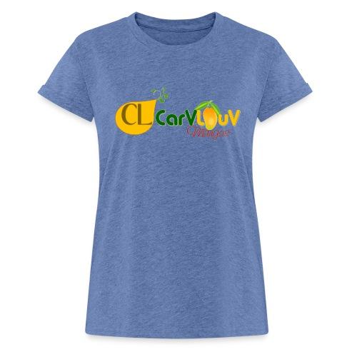 CarVlouV - Camiseta holgada de mujer