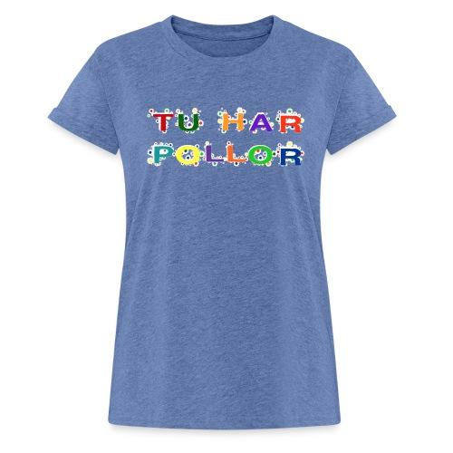 1G3B Pollor - Oversize-T-shirt dam