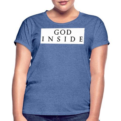 GOD INSIDE - Women's Oversize T-Shirt