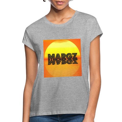 Sunset over Margz - Women's Oversize T-Shirt