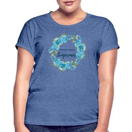 Verdens bedste svigermor - Dame oversize T-shirt