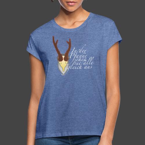 Jägershirt für den Topfjäger - Frauen Oversize T-Shirt