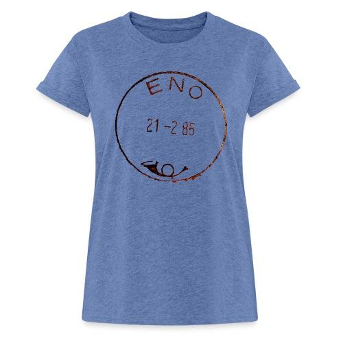 Enon postileima - Naisten oversized-t-paita