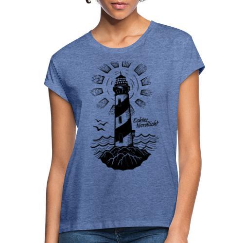Echtes Nordlicht - Frauen Oversize T-Shirt