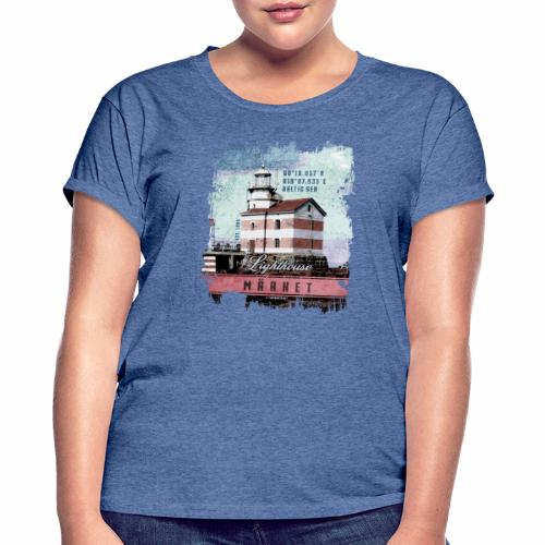 Märket majakkatuotteet, Finland Lighthouse, väri - Naisten oversized-t-paita