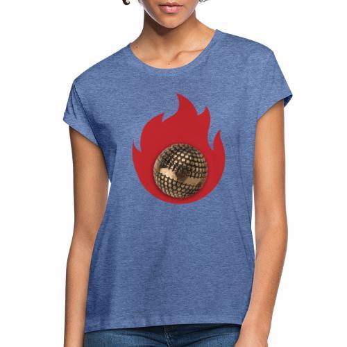 petanque fire - T-shirt oversize Femme