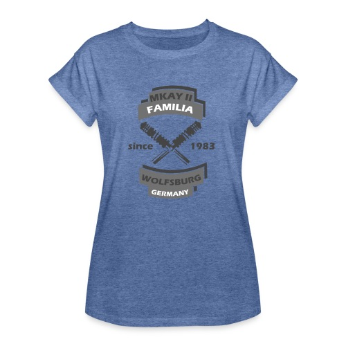mk2outlaws1 - Frauen Oversize T-Shirt