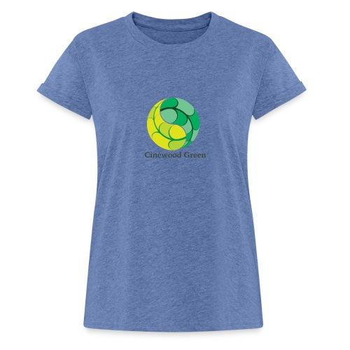 Cinewood Green - Women's Oversize T-Shirt