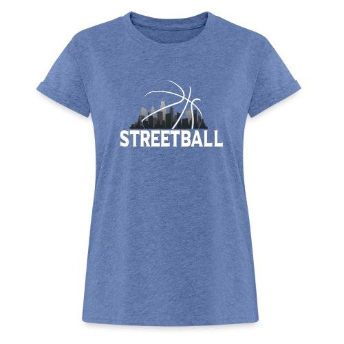 Streetball Skyline - Street basketball - Women's Oversize T-Shirt