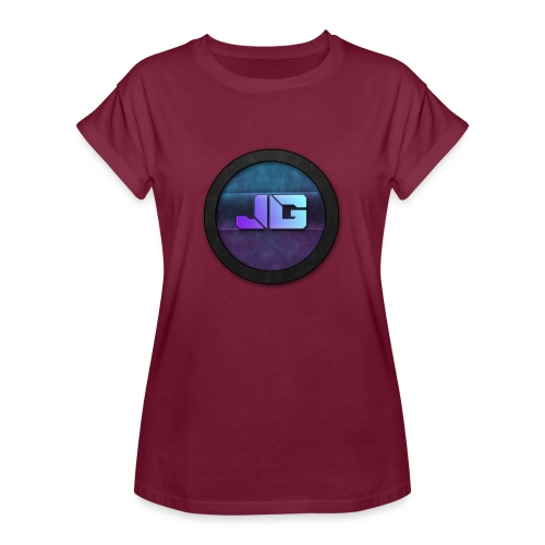 Vrouwen shirt met logo - Vrouwen oversize T-shirt