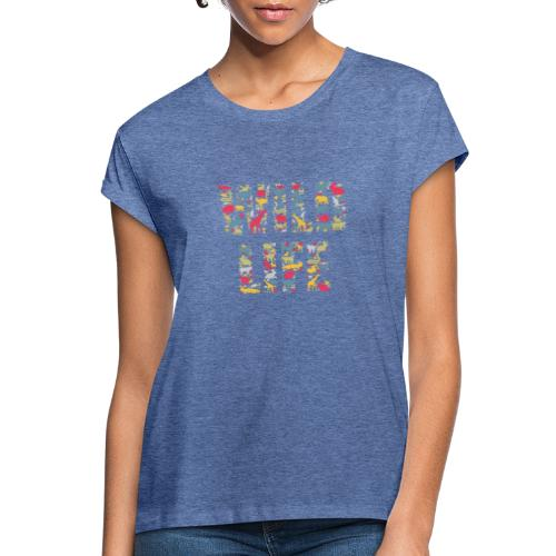 Wild Life - Frauen Oversize T-Shirt