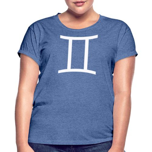 Tvillingarna - Oversize-T-shirt dam