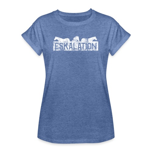 Eskalation - Frauen Oversize T-Shirt