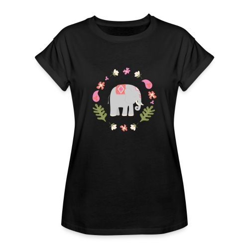 Indian elephant - Maglietta ampia da donna