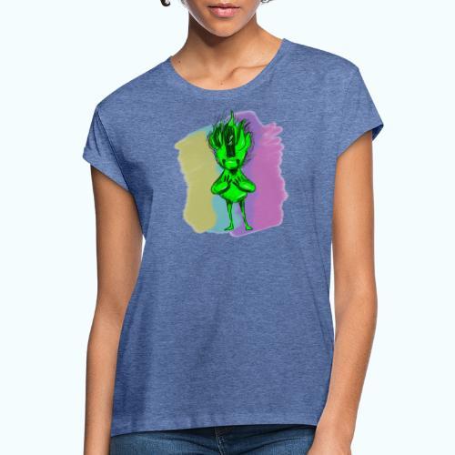 LITTLE COBOLD real drawing - Women's Oversize T-Shirt