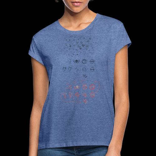 Overscoped concept logos - Women's Oversize T-Shirt