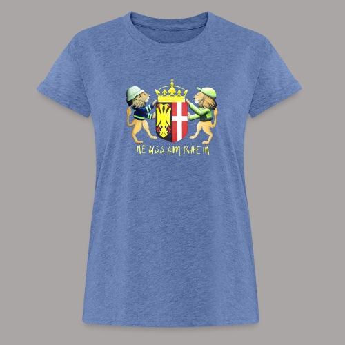 Neuss am Rhein - Frauen Oversize T-Shirt