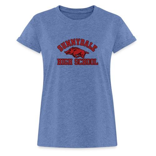 Sunnydale High School logo merch - Vrouwen oversize T-shirt