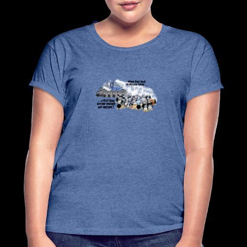 tux demo - Frauen Oversize T-Shirt