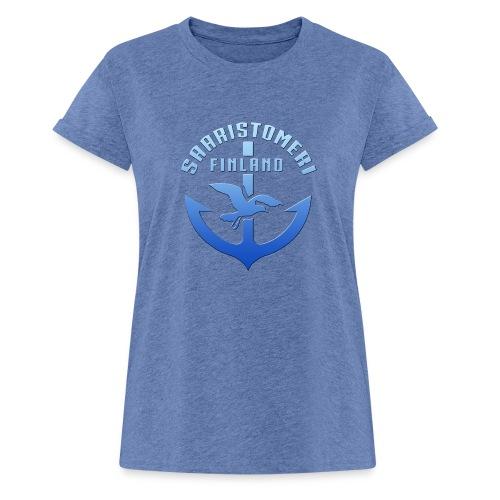 SAARISTOMERI FINLAND ANKKURI Tekstiilit ja lahjat - Naisten oversized-t-paita