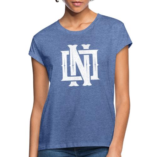 Nineone Monogram NO 02 white - Frauen Oversize T-Shirt