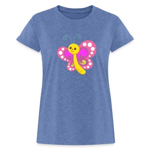 butterfly - Frauen Oversize T-Shirt
