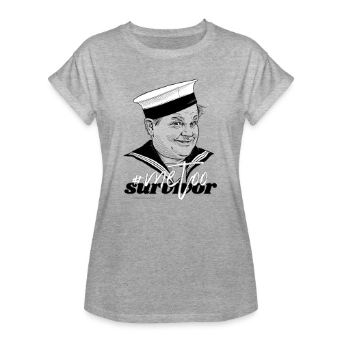 #metoo survivor - Dame oversize T-shirt