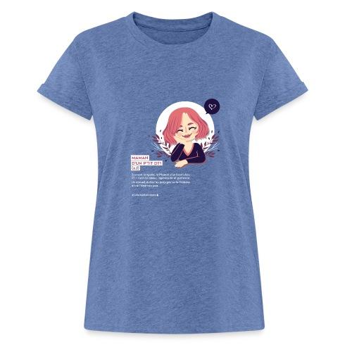 Maman d'un enfant diabétique - T-shirt oversize Femme