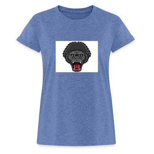 gorilla - Vrouwen oversize T-shirt