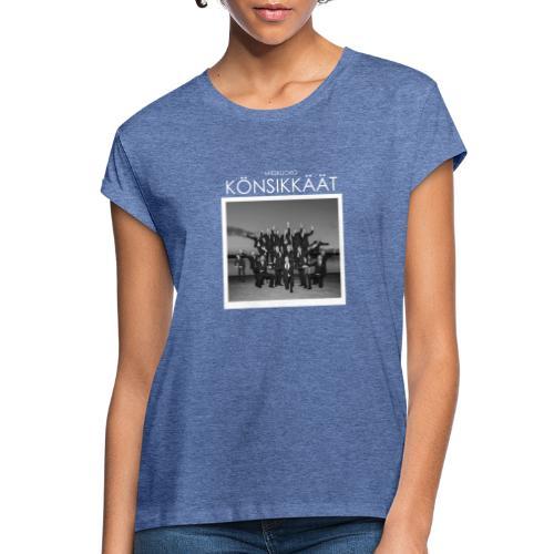 Könsikkäät - joulu saarella - Naisten oversized-t-paita