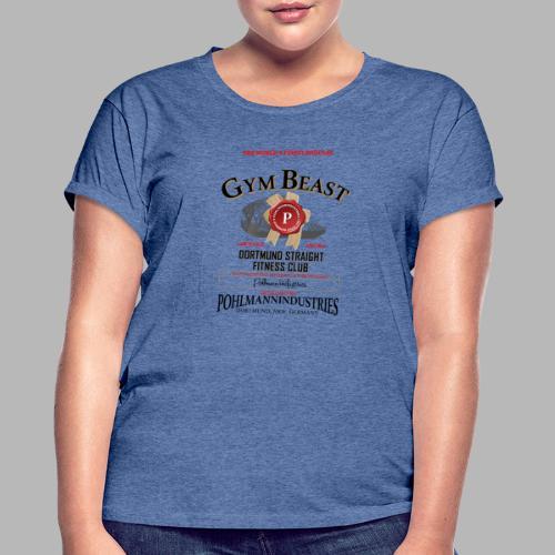GYM BEAST - Frauen Oversize T-Shirt
