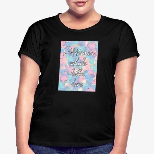 Wanna whole lotta love - Maglietta ampia da donna