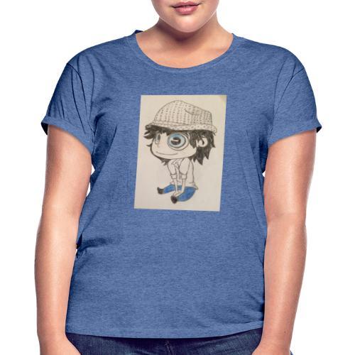 la vida es bella - Camiseta holgada de mujer