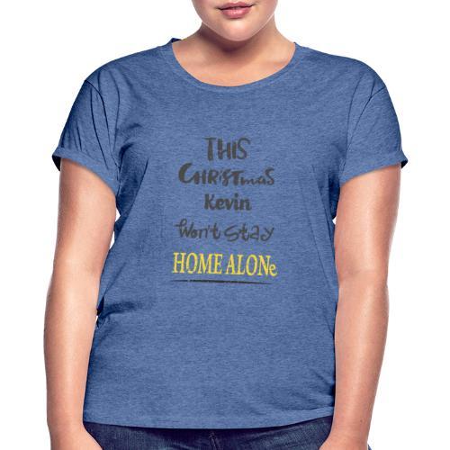 Kevin McCallister Home Alone - Koszulka damska oversize