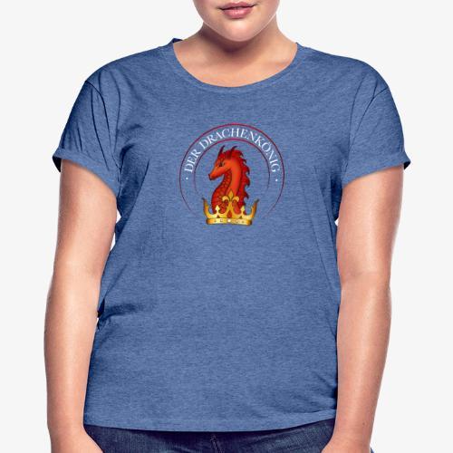 Drachenkoenig Logo - Frauen Oversize T-Shirt