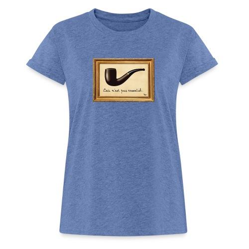 La Culture est essentielle (by EFEL) - Avec Cadre - T-shirt oversize Femme