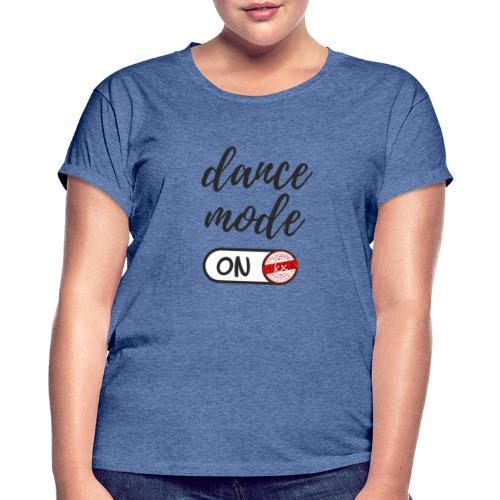 Shirt dance mode schw - Frauen Oversize T-Shirt