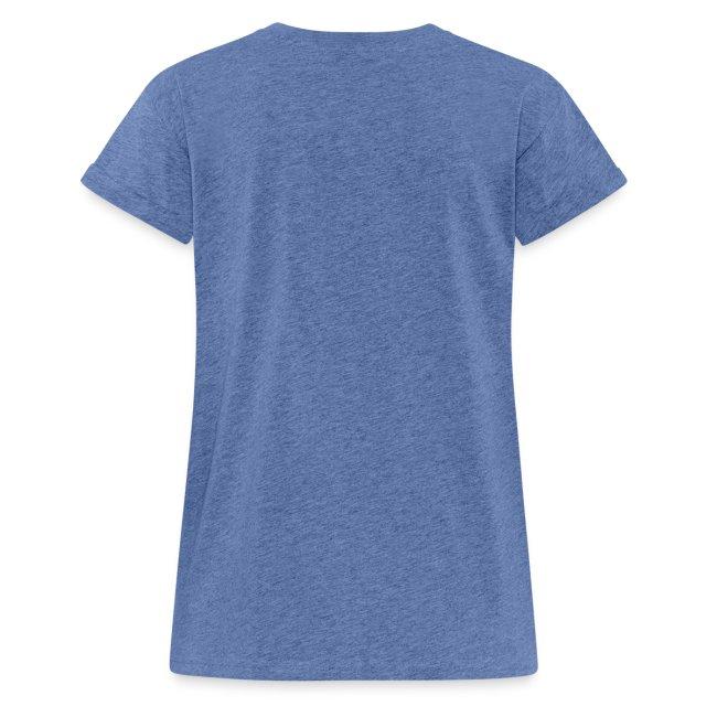 Vorschau: Gscheid woas ned owa leiwaund - Frauen Oversize T-Shirt