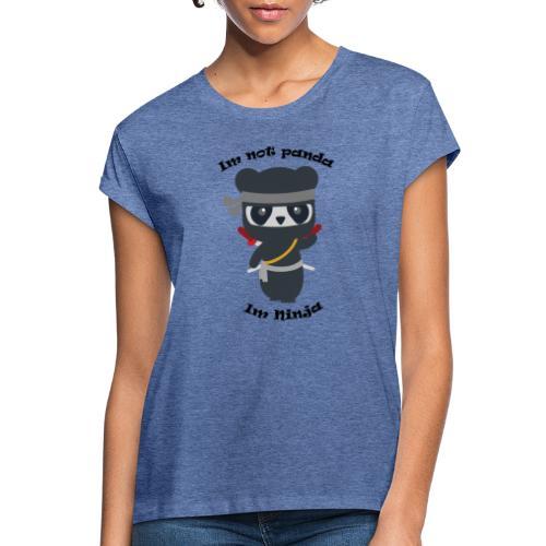 Non sono un Panda - Maglietta ampia da donna