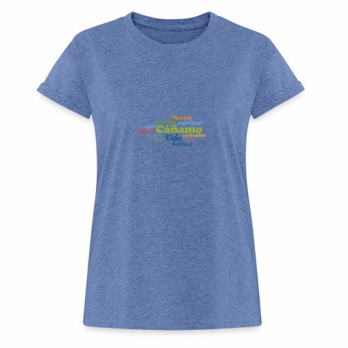 Cáñamo Sustentable - Camiseta holgada de mujer