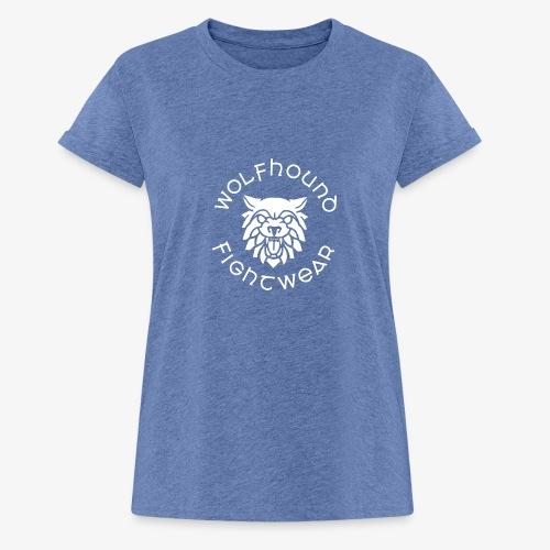 logo round w - Women's Oversize T-Shirt