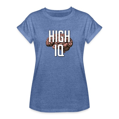 XpHighIQ - T-shirt oversize Femme