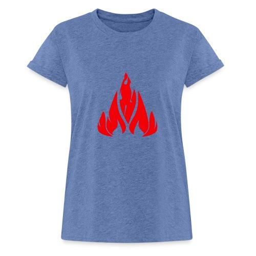 fire - Women's Oversize T-Shirt