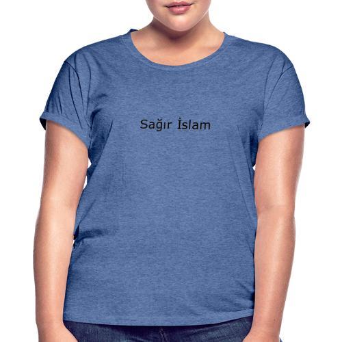 Deaf Islam - Frauen Oversize T-Shirt