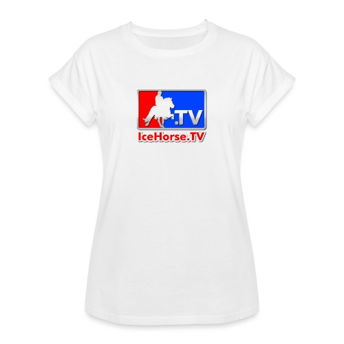 IceHorse logo - Women's Oversize T-Shirt