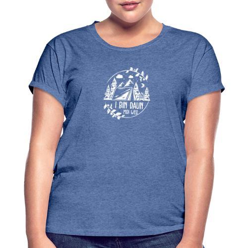 Vorschau: I bin daun moi weg - Frauen Oversize T-Shirt