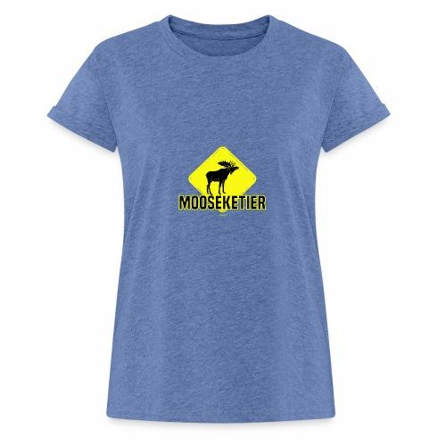 Moosketier - Vrouwen oversize T-shirt
